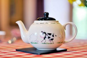 fun farmhouse teapot