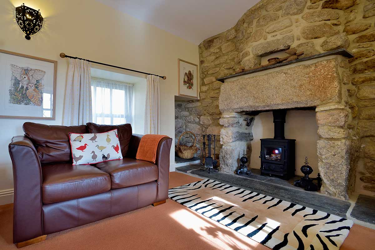 trevean cottage lounge