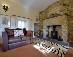 trevean cottage lounge image