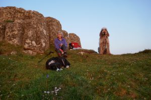 Evening picnic at Porthgwarra